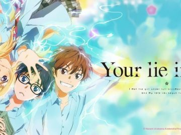 Your Lie in April landscape photo for the romcom drama anime