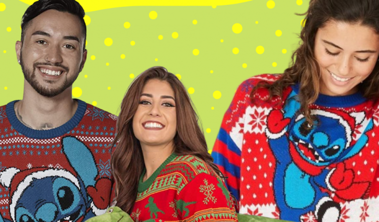Disney's Ugly Christmas Sweaters Will Help You Build a Snowman